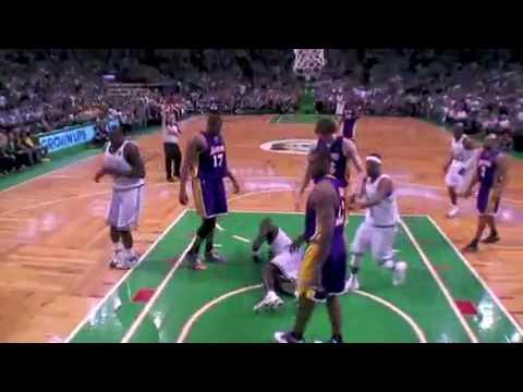 Lakers vs Celtics THE NBA FINALS Game 5 2010 - YouTube