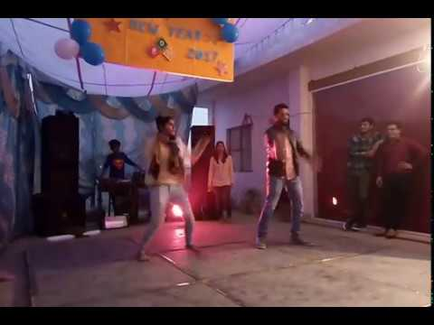 A Whacking New Year 2017 Party Dance in Ranks Digital Media on Lungi Dance