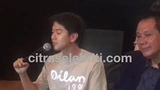 """Iqbal Ramadhan diserbu saat peluncuran trailer film"""" Dilan 1991"""""""