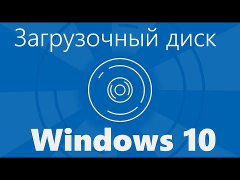 Загрузочный диск Windows 10