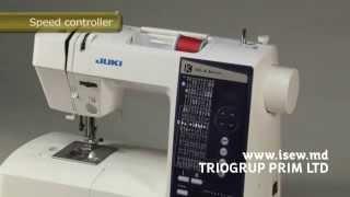 видео Швейная машинка для квилтинга и пэчворка с функцией свободный рукав