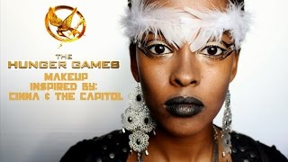 The Hunger Games: Cinna and The Capitol Inspired Makeup Tutorial (feat. Sumiya!)|| Grace&TJ Thumbnail