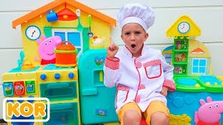 블라드와 니키타 장난감 카페 스토리 컬렉션 비디오