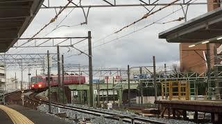 [SR白幕特急‼️]名鉄5300系 5305f(特急名古屋行き)神宮前駅 入線‼️
