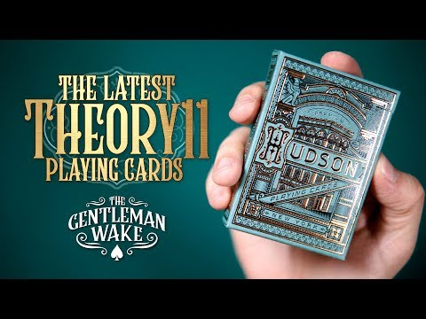 Hudson Deck Review - Theory11 Playing Cards