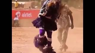Самый быстрый танец ногами