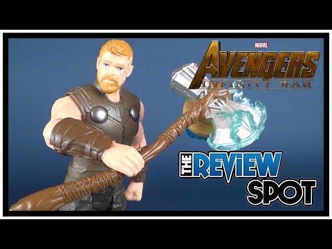 Toy Spot | Hasbro Avengers Infinity War Thor with Infinity Stone Figure