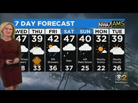 CBS 2 Weather Watch (5PM 11-26-19)