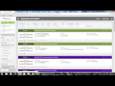 Quickinsured Brokerage Quoting Tool Demo