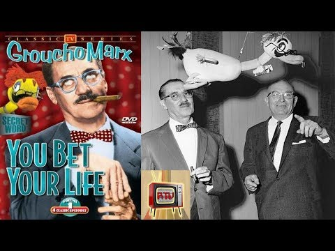 GROUCHO MARX -  You Bet Your Life S6E30 (1956)