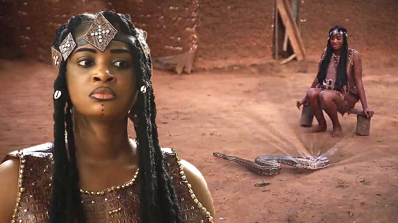 Download How A Rejected & Banished Maiden Got Magical Powers From The Python Snake Goddess 1 - AFRICAN MOVIES
