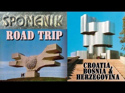 Spomenik Tour - Croatia / Bosnia & Herzegovina Road Trip - Travel Vlog