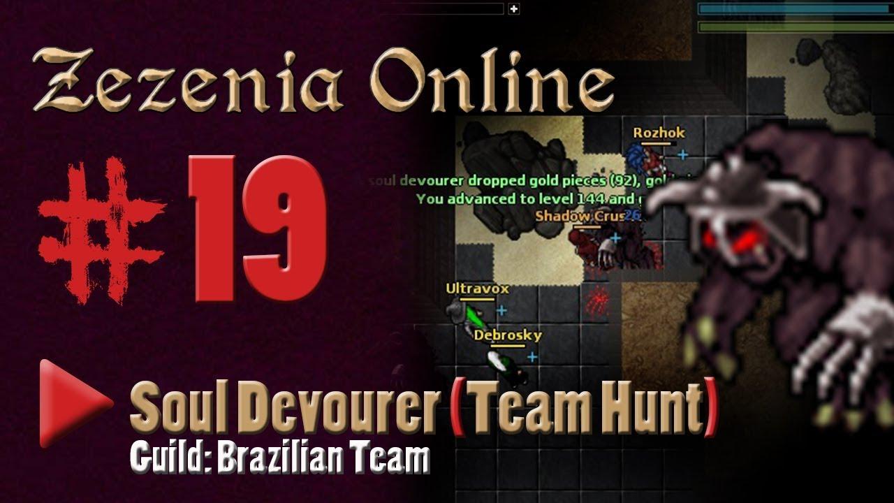 ZEZENIA #19 - SOUL DEVOURER (team Hunt) Paladin. - YouTube