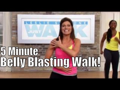 5 Minute Belly Blasting Walk!