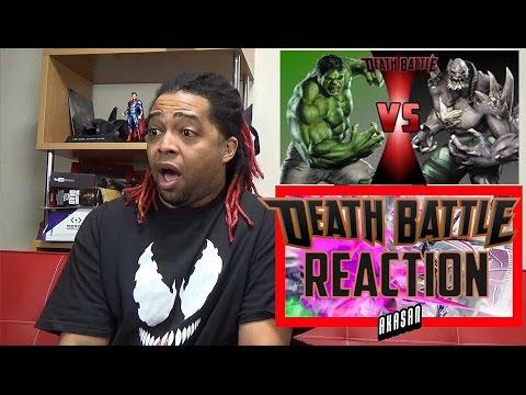 HULK VS DOOMSDAY | DEATH BATTLE! (MARVEL VS DC) - REACTION ... Doomsday Vs Hulk Death Battle Reaction