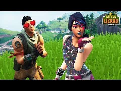 NOOB SAVES A GIRLS LIFE!! Fortnite Short Film