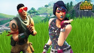 NOOB SAVES A GIRLS LIFE!! Fortnite Short Film streaming