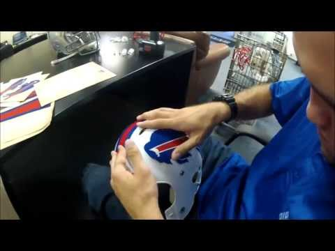 How to make an NFL helmet