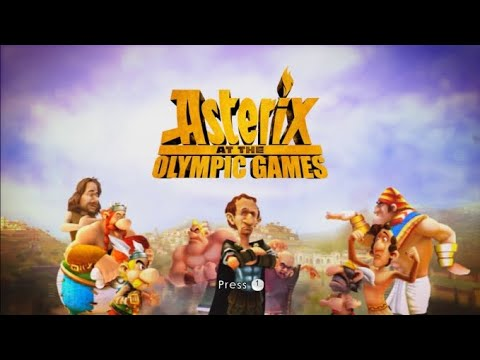 Asterix at the Olympic Games Wii Gameplay - YouTube