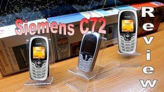 sIEMENS C72 - Обзор