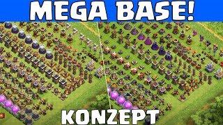 MEGA MULTIPLAYER BASE! - Konzept! || Clash of Clans || Let
