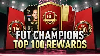FUT CHAMPIONS NUMBER 4 IN THE WORLD REWARDS!!!