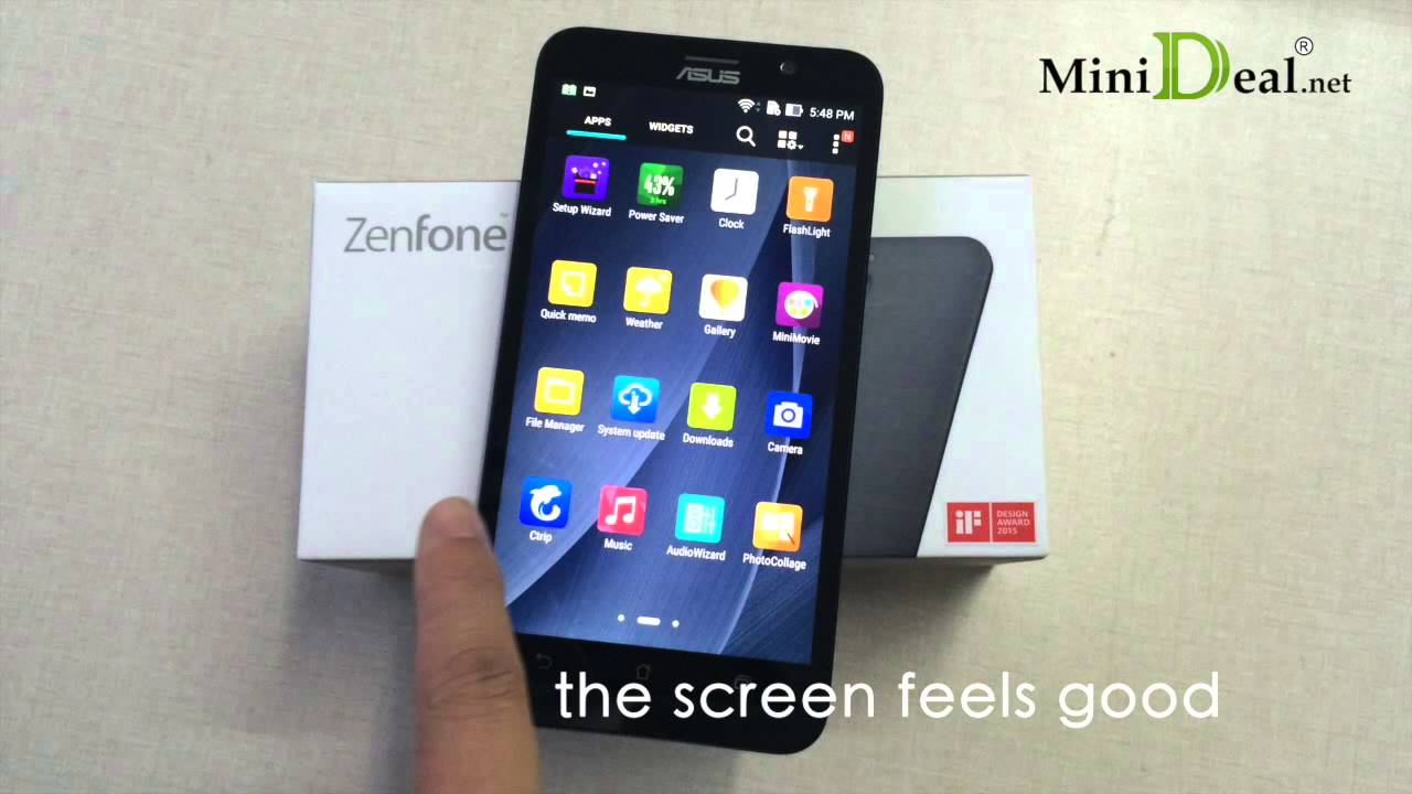 ASUS Zenfone 2 ZE551ML unboxing [english] - YouTube