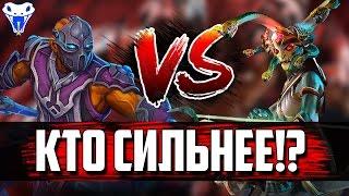 Кто сильнее 1 на 1? Хаос vs Свен; Спектра vs Сларк; Медуза vs Антимаг; Кристалка vs Лон друид.