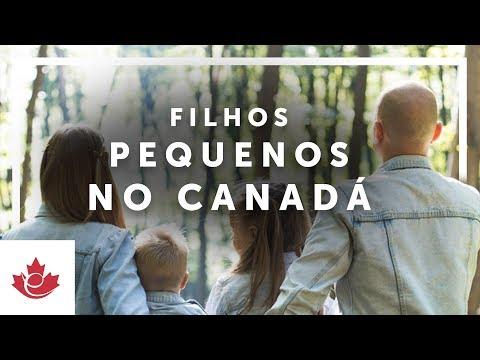 FILHOS, CRECHE e BENEFÍCIOS FINANCEIROS no CANADÁ