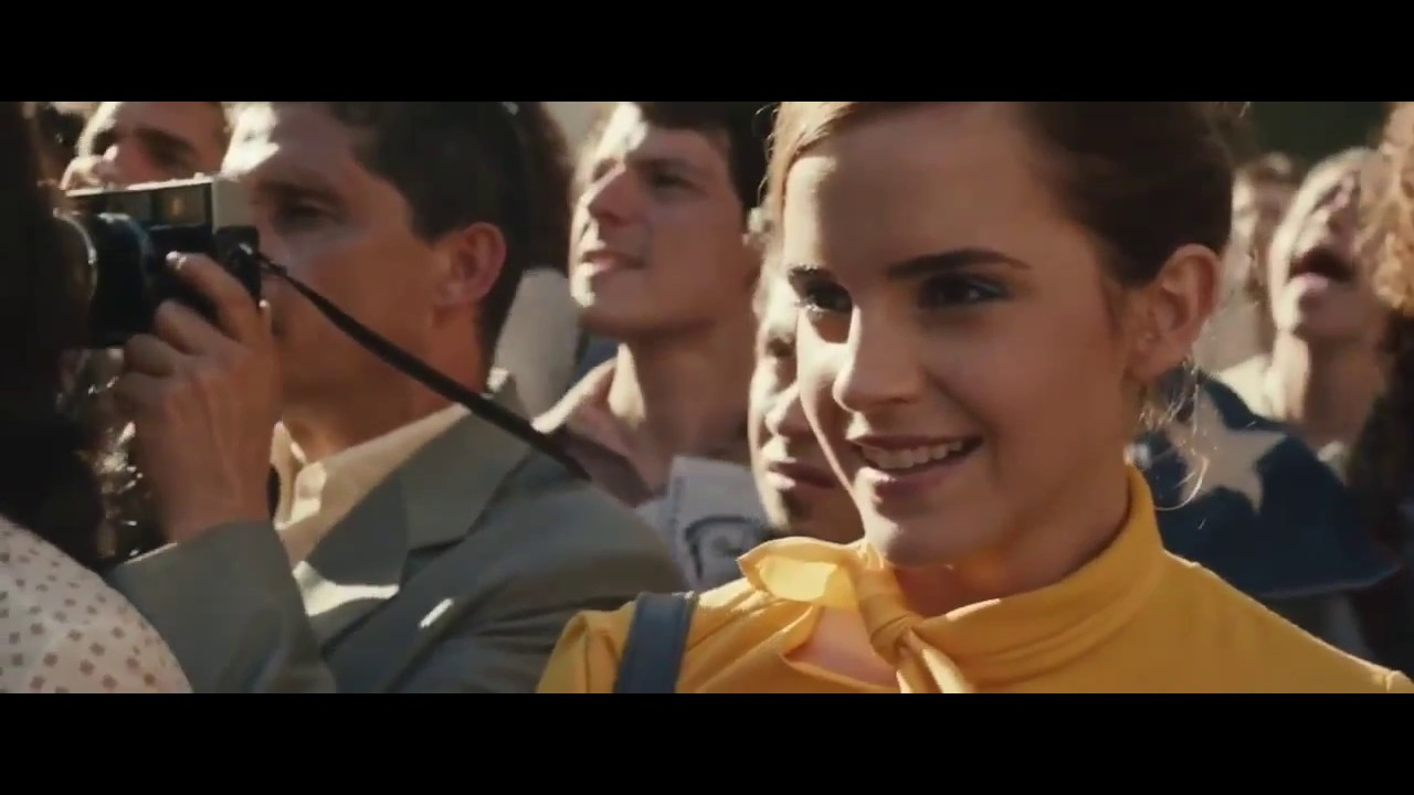 Emma Watson Beauty and the Beast Kiss Scene - YouTube