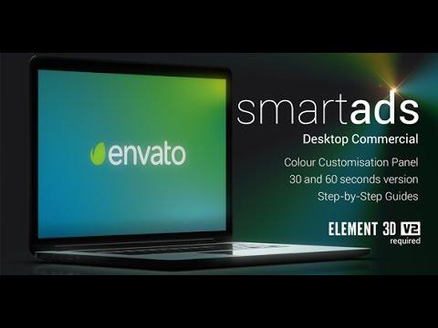 after effects template smartads desktop commercial template youtube. Black Bedroom Furniture Sets. Home Design Ideas