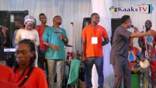 Seyi Sholagbade & St  Janet At Sunmibayo Rojaiye & Micheal Afolabi Album Launching.