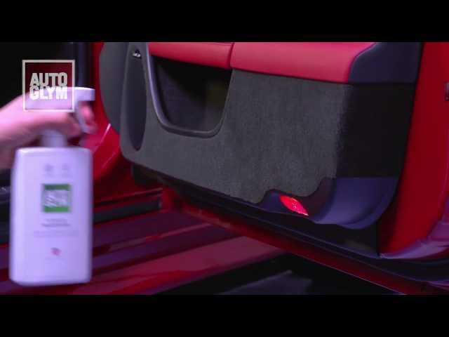 How to use Autoglym Interior Shampoo
