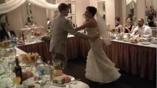 Свадебный танец - сальса касино. Wedding salsa dance, Minsk