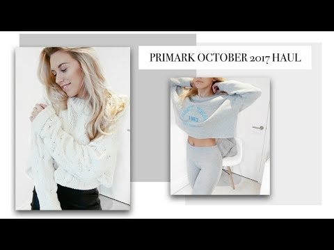 HUGE PRIMARK OCTOBER 2017 TRY ON HAUL | Freya Farrington