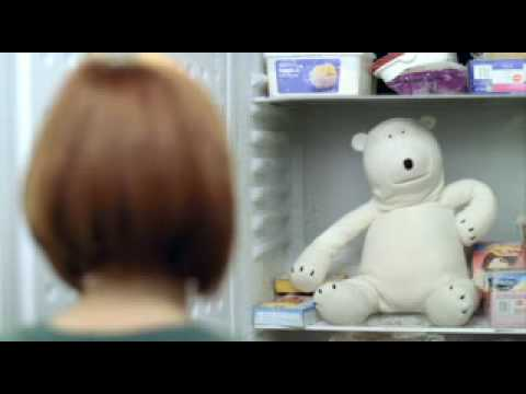 Birds Eye Fish Fingers Advert Featuring The Polar Bear - We're Only Content With 100%