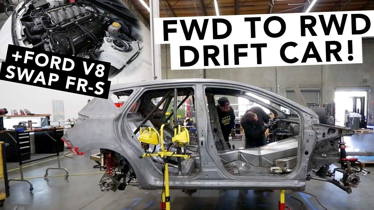 Fredric Aasbo S New Drift Car Revealed Ford Coyote Swap Fr S