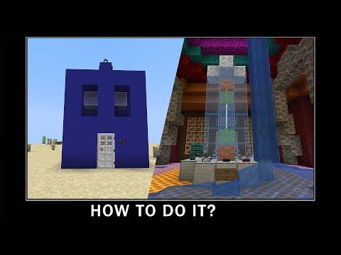 Minecraft wait what meme part 10 - Non-Euclidean  