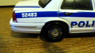 1/18 NY/NJ Port Authority Police Ford Crown Vic Custom Diecast W/ Lights New York New Jersey