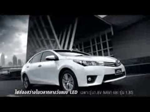 TOYOTA All New Corolla Altis 2014 [Official ads]
