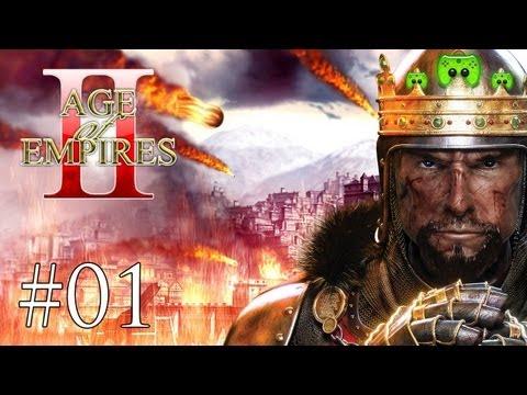 Let's Play Age of Empires 2 HD #001 [Deutsch/HD] - Ein nostalgischer Rückblick