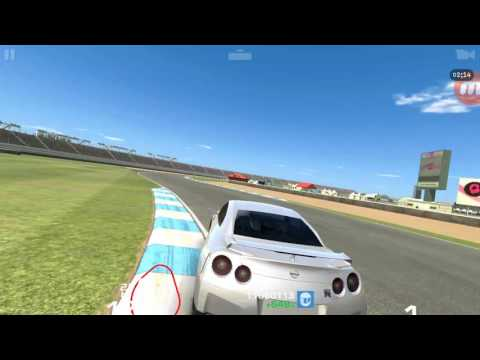 Real Racing 3 Nissan GT-R Premium R35 @Indianapolis Motor Speedway [BGM - Don't Cry (우리동네 음악대장)]