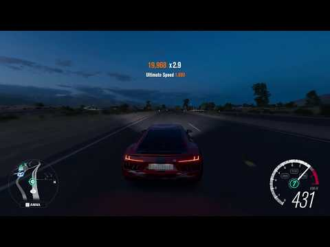 Forza Horizon 3-Audi R8 With V12 Engine-Top Speed-0-436kmph-Gameplay