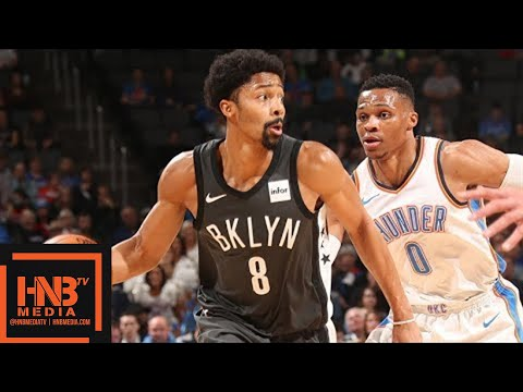 Oklahoma City Thunder vs Brooklyn Nets Full Game Highlights / Jan 23 / 2017-18 NBA Season
