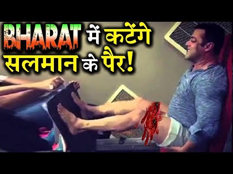 OMG! Salman Khan Will Be Without Legs in Bharat?