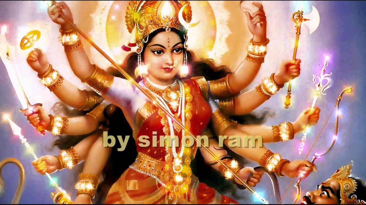 Maa Durga Wallpaper 3d Dhuni Ambe Maa Ki Ardaas Youtube