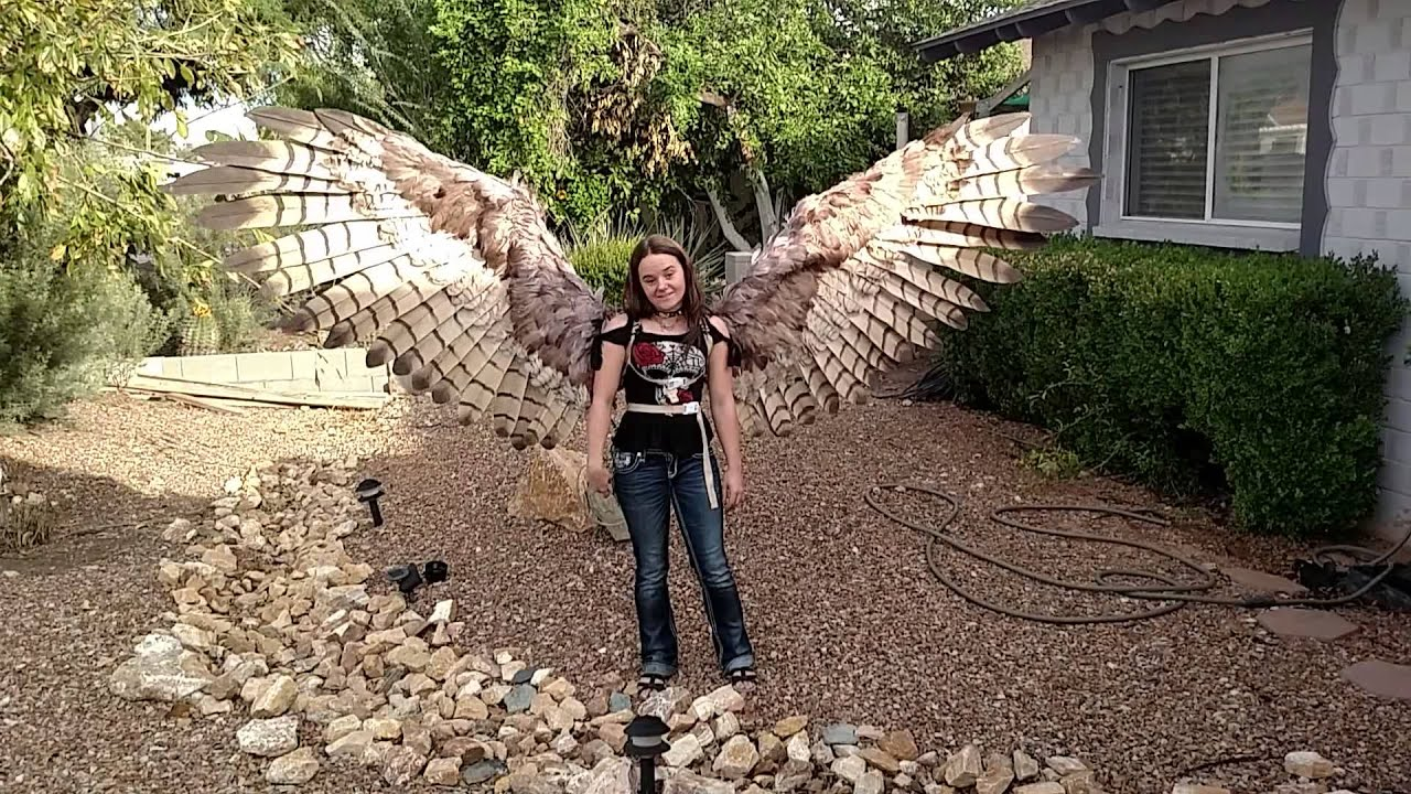 The Human Soul Is Like A Bird That Is Born In A Cage: Girl Builds Giant Wings