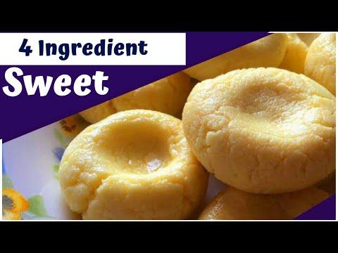 4 Ingredient Sweet   Popular Arabian Eid Sweet ❤️