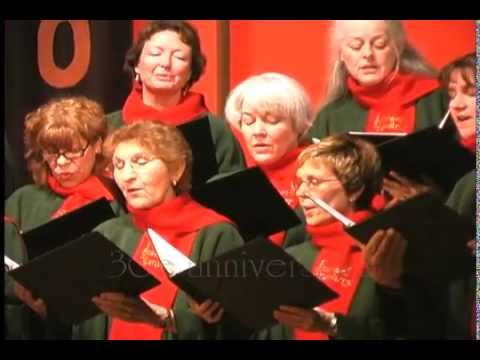 Away in a Manger - arr: John Rutter-- The Stairwell Carollers, 30th Anniversary Concert