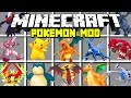 Minecraft POKEMON MOD! |  CATCH PIKACHU, MEWTWO, ARCEUS, MEW AND MORE! | Modded Mini-Game